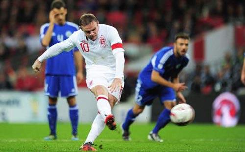 Rooney muốn làm đội trưởng ĐT Anh - 1