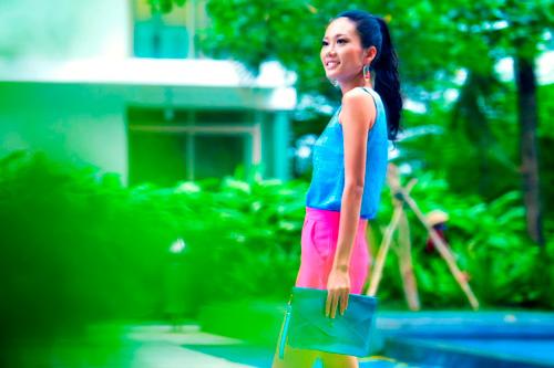 Top Model sành điệu với style đường phố - 1