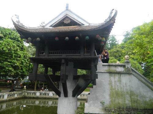 Chùa Một Cột được công nhận kỷ lục châu Á - 1