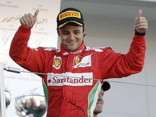 Ferrari gia hạn hợp đồng với Massa đến 2013 - 1