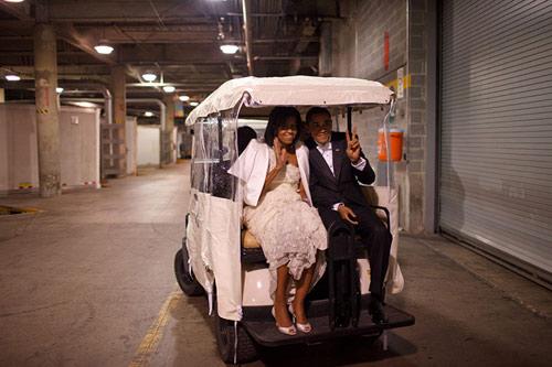 "Khoảnh khắc ""hậu trường"" của TT Obama - 1"