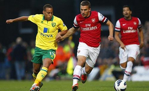 Norwich - Arsenal: Sa lầy ở Carrow Road - 1