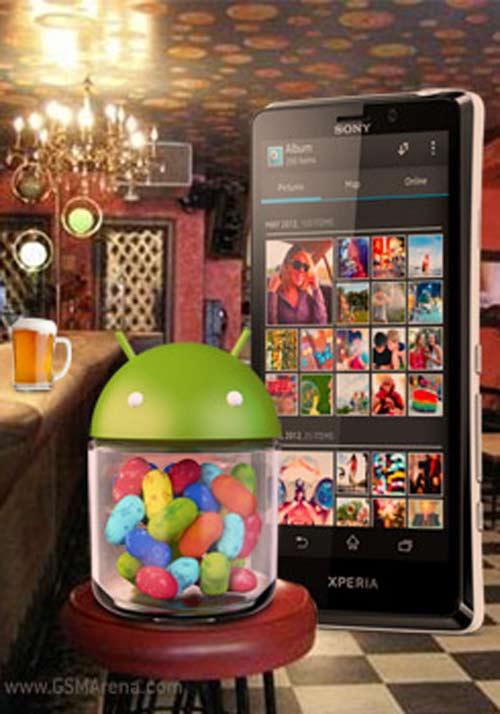 Sony công bố Xperia sắp lên Jelly Bean - 1