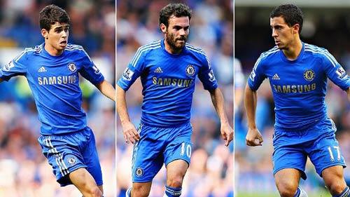"""Chelsea & 3 """"số 10"""": Bóng đá đẹp là đây! - 1"""