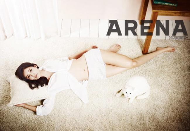'Thảm họa Busan' đang muốn thể hiện vẻ đẹp bản thân bằng những hình ảnh gợi cảm chứ không phản cảm như cách cô sải bước trên thảm đỏ năm ngoái.