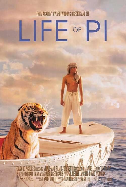 Phim cậu bé sống với hổ trên biển đến VN - 1
