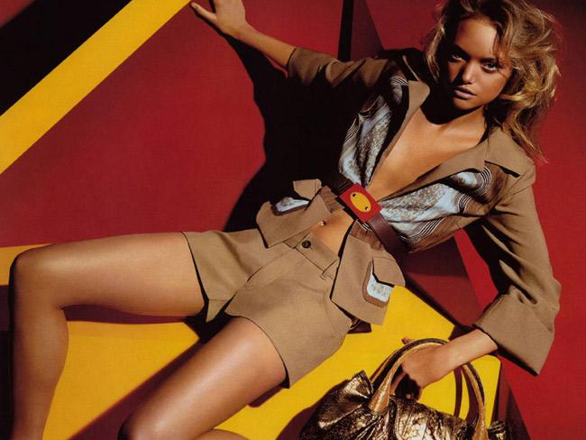 Gemma Ward, hiện là một trong những người mẫu Úc sáng giá nhất