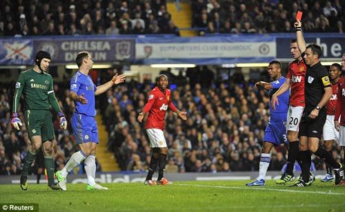 3 tình huống tranh cãi trận Chelsea - MU - 1