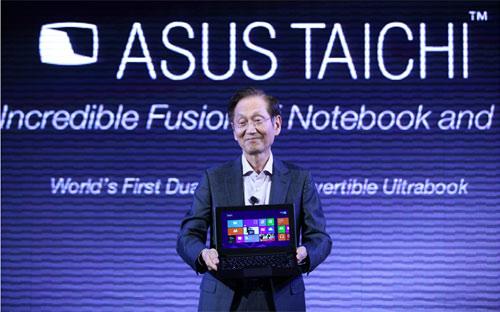 Asus tung loạt thiết bị chạy Windows 8 - 1