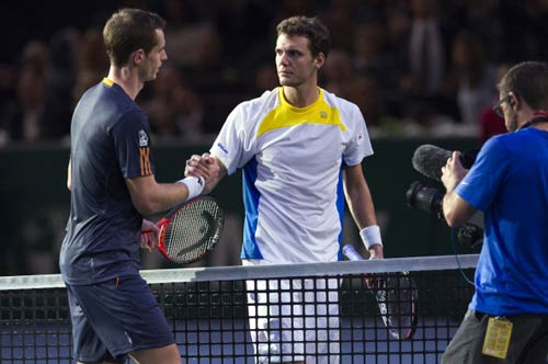 Murray – Mathieu: Bứt tốc (Video tennis, V2 Paris Masters) - 1