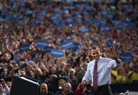 Ông Obama dốc toàn lực ở chặng cuối tranh cử - 1