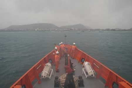 Tàu Hải Phòng 09 bốc cháy trên biển - 1