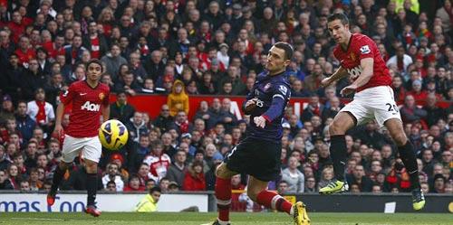 MU - Arsenal: Kết liễu hy vọng - 1