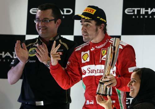 F1: Alonso hài lòng với vị trí thứ 2 - 1