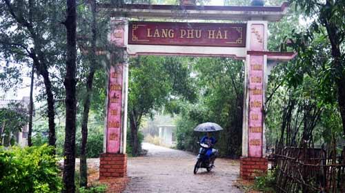 """""""Mật ngữ"""" làng Phú Hải - 1"""