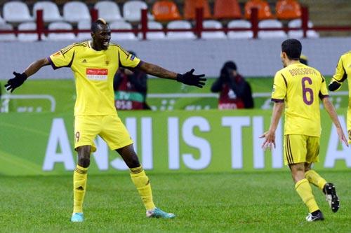 Anzhi - Liverpool: Đổi ngôi - 1