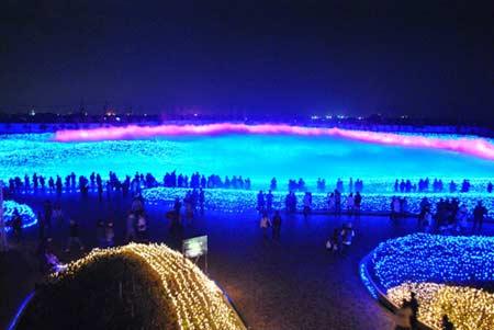 Lễ hội đèn rực rỡ ở Nhật Bản - 1