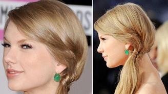 Tóc lệch duyên dáng như Taylor Swift - 1