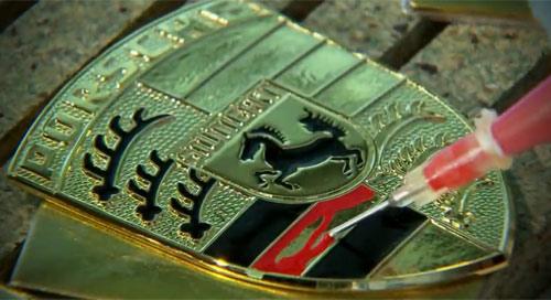 Video: Logo Porsche được làm như thế - 1