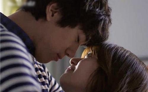 Cảnh hôn nóng rực màn ảnh Hàn - 1