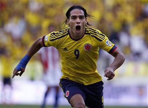 """Brazil–Colombia: Neymar """"đọ súng"""" Falcao - 1"""