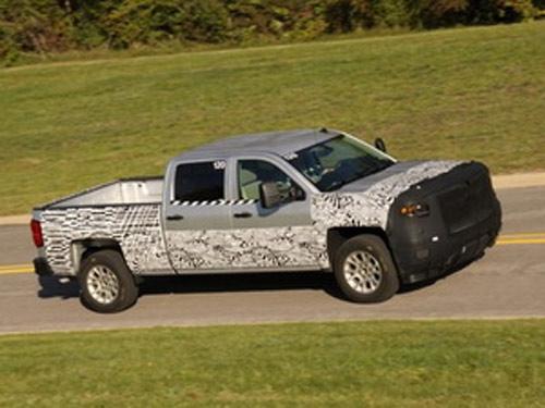 Xe tải Chevrolet Silverado 2014 lộ diện - 1