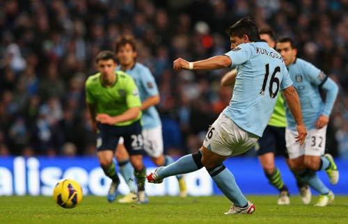 Man City – A.Villa: Mưa bàn thắng - 1