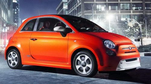Fiat 500E 2013 chạy điện sắp ra mắt - 1