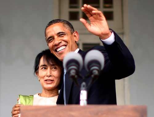 Obama là Tổng thống Mỹ đầu tiên thăm Myanmar - 1