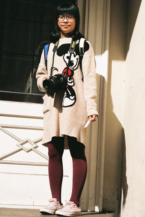 Mùa lạnh vui tươi nhờ thời trang Mickey - 1