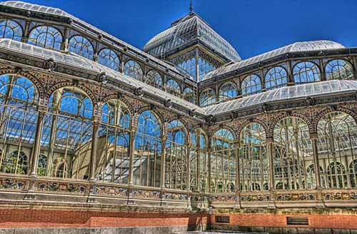 Lung linh cung điện pha lê ở Madrid - 1