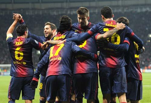 Spartak – Barca: Đạp tan băng giá - 1