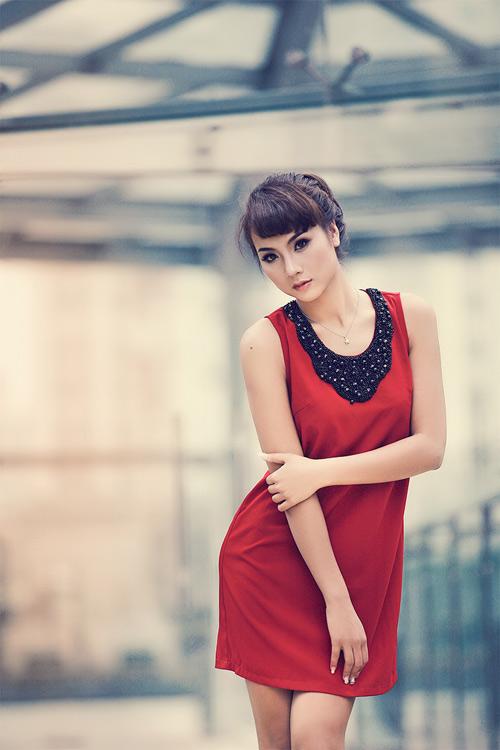 Nga Tây, cô gái sexy nhất Hoa khôi Hà Nội - 1