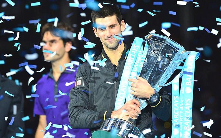 Novak Djokovic giành chức vô địch World Tour Finals, đồng thời kết thúc năm 2012 ở vị trí số 1 thế giới.