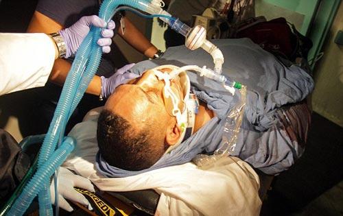 Võ sỹ thập tử nhất sinh sau vụ xả súng - 1