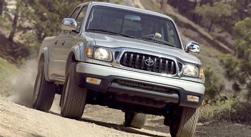 Xe bán tải Toyota Tacoma bị thu hồi - 1