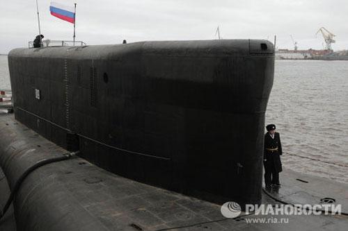 Chiêm ngưỡng siêu tàu ngầm hạt nhân Nga - 1