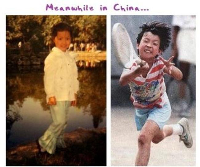 Tay vợt người Trung Quốc Ni La.