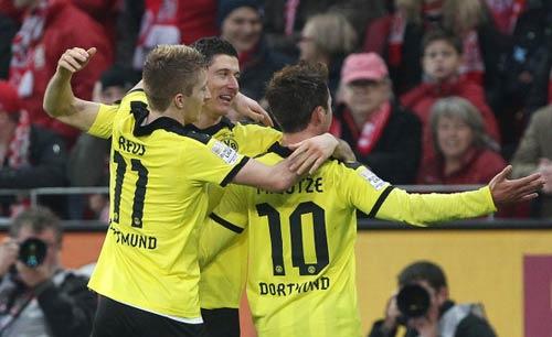 Mainz 05 - Dortmund: Lội ngược dòng - 1