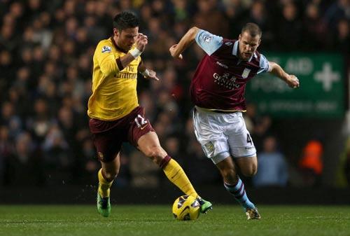 Aston Villa - Arsenal: Nỗ lực bất thành - 1