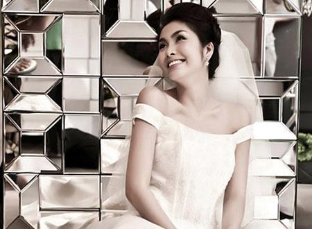 Làm cô dâu xinh đẹp như Tăng Thanh Hà - 1