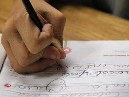 Trường học Mỹ phân vân bỏ viết tay - 1