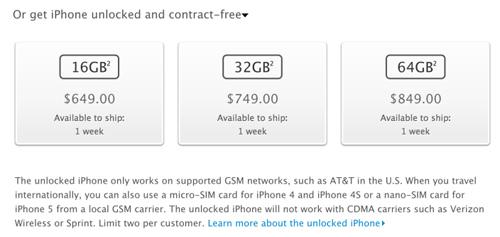 iPhone 5 mở khóa sắp lên kệ - 1