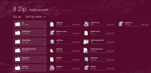 Cách giải nén trên Windows 8 với ứng dụng 8 Zip - 1