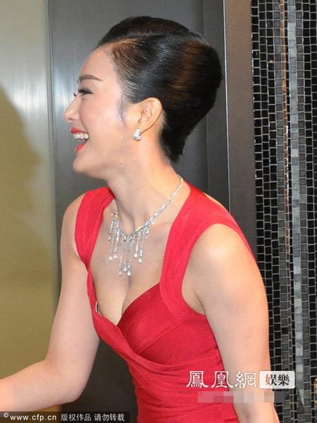 Người đẹp Tần Lam khoe eo thon gợi cảm - 1