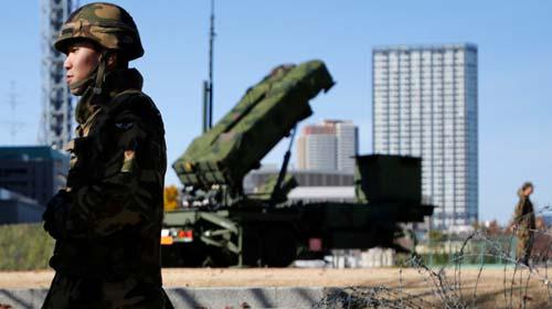 """Mỹ, Nhật """"đón"""" tên lửa Triều Tiên - 1"""