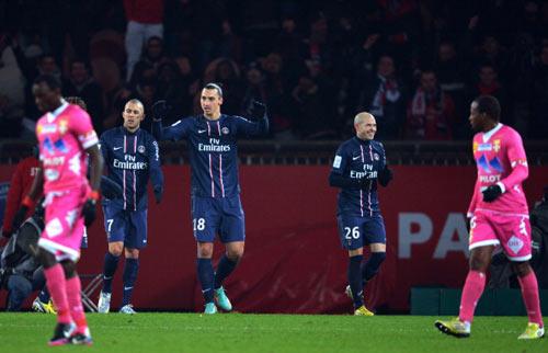PSG - Evian: Tiệc bàn thắng - 1
