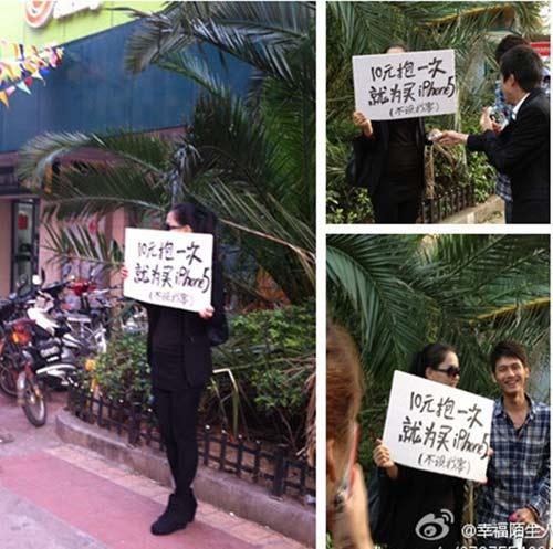 Rao bán 1 lần ôm để mua iPhone 5 - 1