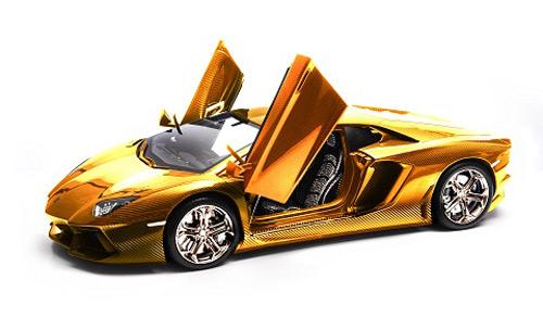 Lamborghini 'cõng' 1400 viên kim cương - 1
