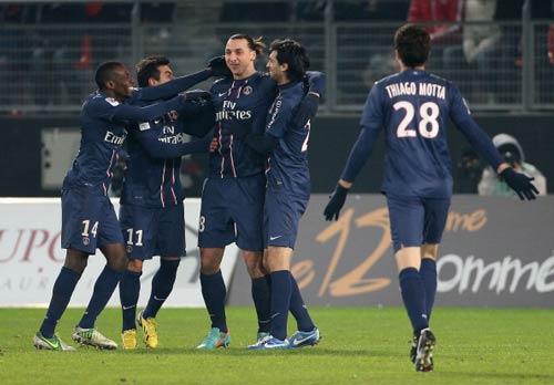 Ibrahimovic đe dọa kỷ lục tại Ligue 1 - 1